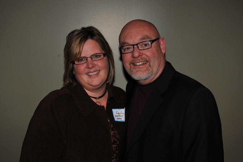 Carla (Hoffman) Green and her husband Rick