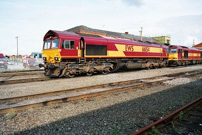 66154 in Doncaster Carr Yard.