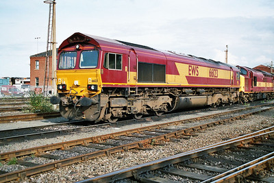 66123 in Doncaster Carr Yard.