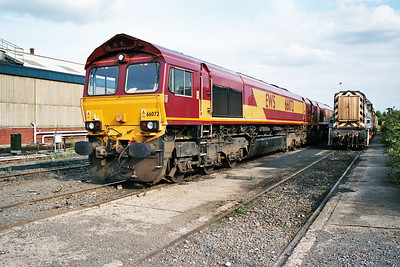 66072 in Doncaster Carr Yard.