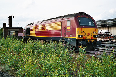 67025 in Doncaster Carr Yard.