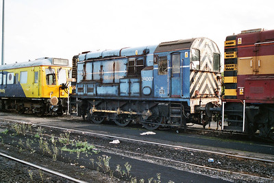 09007 in Doncaster Carr Yard.