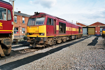 60026 in Doncaster Carr Yard.