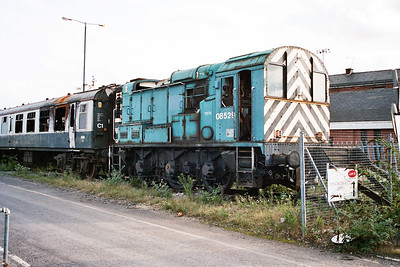 08529 on the scrap line next to the wood yard.