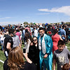 Approximately 280 students graduated during the Capital High School class of 2017 29th commencement ceremony at the high school's football field Thursday May 25, 2017. Clyde Mueller/The New Mexican