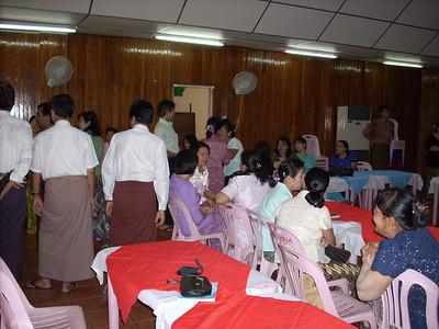 2007 Tea Party @ MMA, Yangon July 28 photo credit: Aung Htay