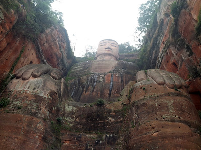 Giant Buddha @ Mount Emei, China photo credit: soe than