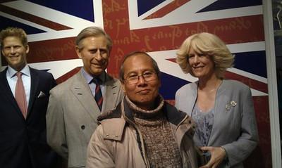 Aung Moe Nyo in London 2012