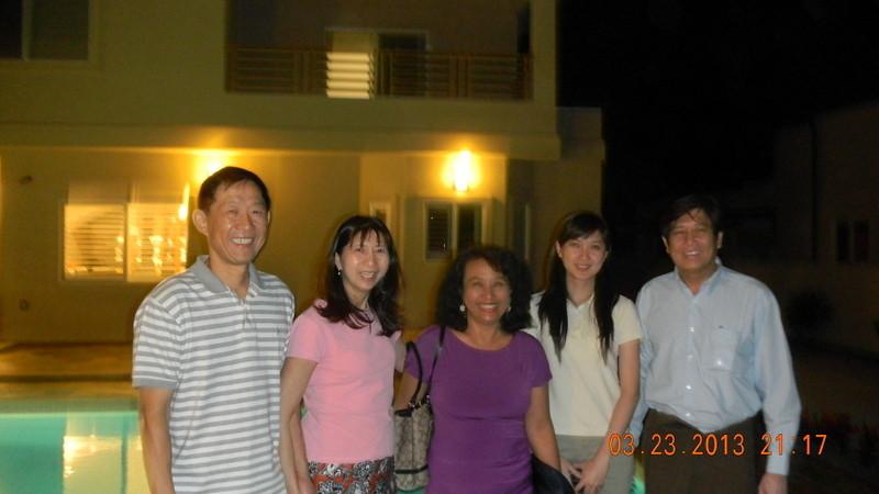 theingikyu visiting hawaii<br /> @khin khin wai and maung aung's new house <br /> photo credit: maung aung