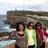 theingikyu, hta hta khine (sandra) & khaing khaing wint<br /> watsons bay, sydney, australia march 2013<br /> photo credit: theingikyu