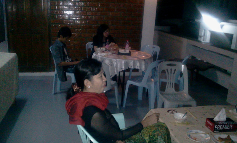 new year party, yangon Dec 31 2012<br /> photo credit: aung shwe saw