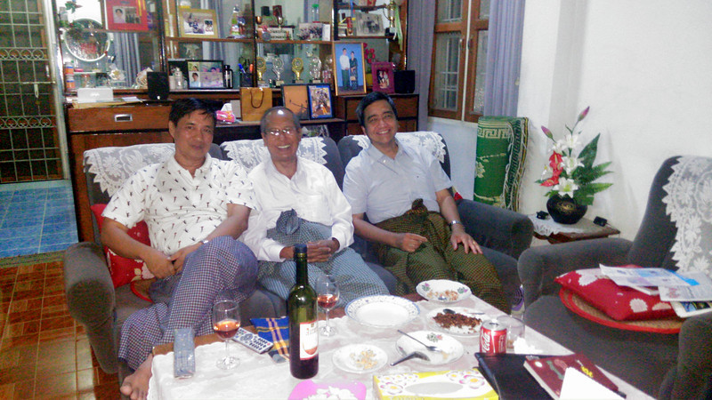 the renowned 82ers Gyi-Thone-Gyi<br /> minthagyi, ahmutgyi and wungyi<br /> photo credit: aung htay