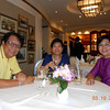 u thet & si lay with moe mya mya<br /> kuala lumpur, october 3 2013<br /> photo credit: si lay khine