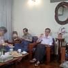 reunion meeting @ shin saw pu hotel july 2013<br /> photo credit: tin naing