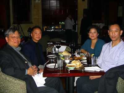 Lin Aung, Peter, Wah Wah Thi & Soe Than Washington DC, Oct 28, 2006 photo credit: Peter
