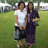 Wah Wah Thi and Hla Hla Khine @ Aung Yadana Monastery, Maryland<br /> June 3, 2007<br /> photo credit: WWT