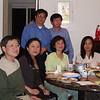Mg Mg (Dominic), Mie Mie, San San Myint, Hla Hla Khine<br /> Tun Hla & Mg Mg (Shwe Twa), standing<br /> San Jose, California May 7, 2007<br /> photo credit: SSM