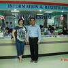 Ma Khin Tint (Dr Lillian Koe) with Dr Htin Paw, founder of Sakura Hospital Yangon<br /> photo credit: MKT