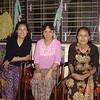 Nilar Myint, Khin K Oo & Naing Naing Ag, Yangon, Dec 2005<br /> photo credit: NM