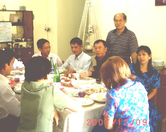 22nd wedding anniversary of Khin Swe Aye & Aung Shwe Saw<br /> Dec 9, 2007<br /> photo credit: AgSS