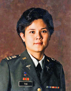 Captain Thi US Army Medical Service Corp. 1991 photo credit: wah wah thi