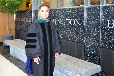 attending the class of 2011 MD diploma ceremony, GWU, May 15 photo credit: peter
