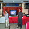 Pre-union meeting, Panda Restaurant, Yangon, Jan 22, 2006<br /> photo credit: Aung Shwe Saw