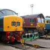 45112, 66011 & 56006 at Knottingley TMD