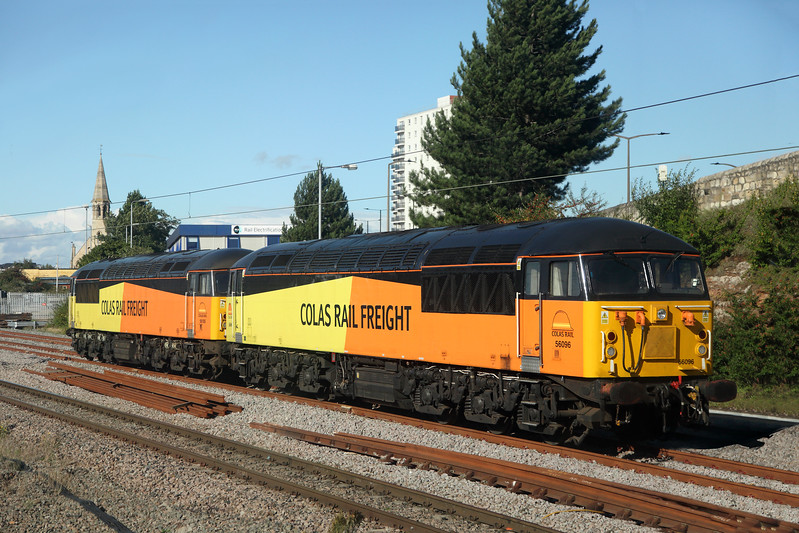 56096 & 56115 at Doncaster Carriage Holding Sidings