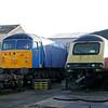 43101 & 56009 (56201) at Brush Works, Loughborough