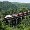 56311 & 56312 on East Largin Viaduct
