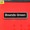 Nameplate - 43257 'Bounds Green'
