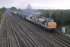 13 September 2001 :: 37038 + 37603 are seen ay Worting working a Freightliner intermodal train to Southampton
