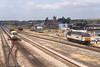 "19 July 1994 :: 56053 ""Sir Morgannwg Ganol / County of Mid Glamorgan"" in a siding at Severn Tunnel Junction"