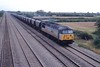 """2 September 1997 :: 56052 """"The Cardiff Rod Mill"""" on a south Wales coal train is seen at St Mellons"""