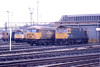23 February 1988 :: 56041  along with 33049 are pictured at Bristol Bath Road