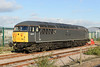 "7 November 2013 :: Now in a dark grey DCR livery, 56312 (56003) "" Jeremiah Dixon"" is stabled adjacent to York Station"