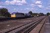 28 May 1998 :: 56036 along with 59001 is seen passing Hook