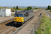 "20 April 2015 :: 56312 (56003) ""Jeremiah Dixon"" is running light through Pilning Station working 0Z35 from Bristol Barton Hill to Cardiff Tidal"