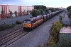 11 June 2001 :: 56032 is passing Barton-under-Needwood with a coal MGR train