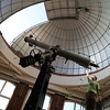 Further adjustments to the Clark telescope.