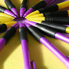 Complementary pencils <br /> Purple and yellow<br /> I didn't think I'd find much purple and yellow to shoot. But what I shot didn't look very clean and just wasn't right so I staged this shot. I haven't a clue what Carol will say about it.