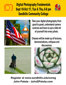 Sandhills Community College Photography Classes