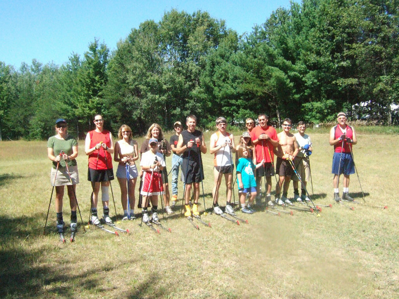 C.A.T. Ski Clinic given by Dale Niggeman Aug 31 2008 at Cross Country Ski Headquarters.