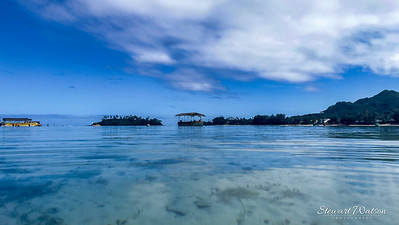Muri Beach lagoon, Cook Islands