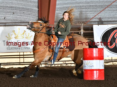 Classic Barrel Racing Feb. 25th. 2017 Youth and Novice