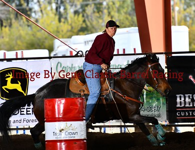 Classic Barrel Racing March 25th. Open Draw 1-105