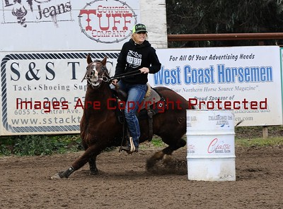 Classic Barrel Racing New Year's Barrel Race December 31st. 2016 Open Draw 61-90
