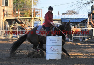 Diamond bar Arena New Year's Barrel Race 12/31/2016 Youths