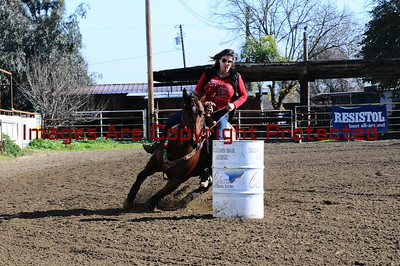 January 1st 2017 New Years Barrel Race Open Draw 1-30